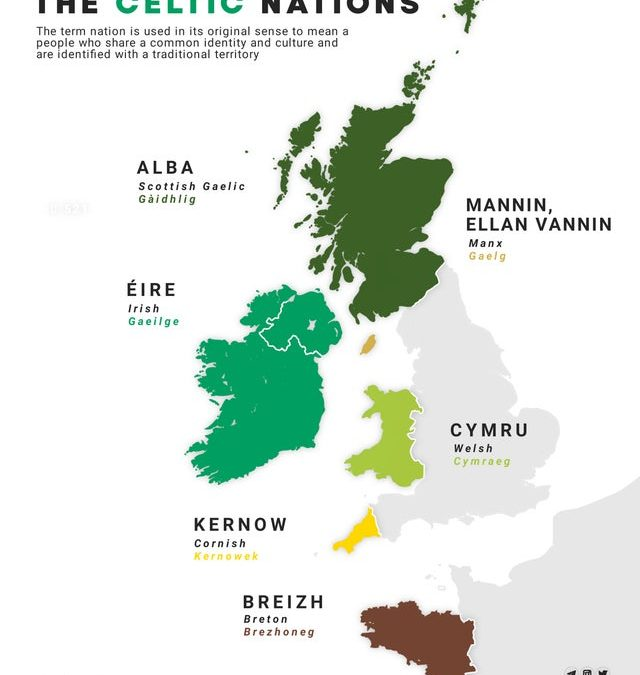 6, 7, 8 Celtic Nations? Depends on Who You Ask