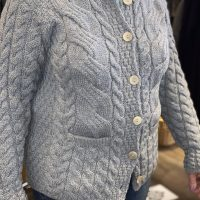 Cable Cardigan w/ pockets