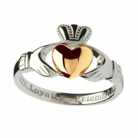 Shanore 10k Gold Claddagh Heart Ring