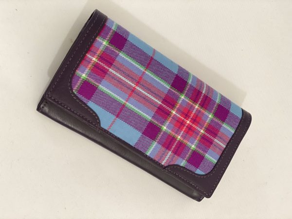 Purple Leather Wallet Hope For Life